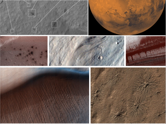 Anomaly Detection on Mars Using Deep Learning