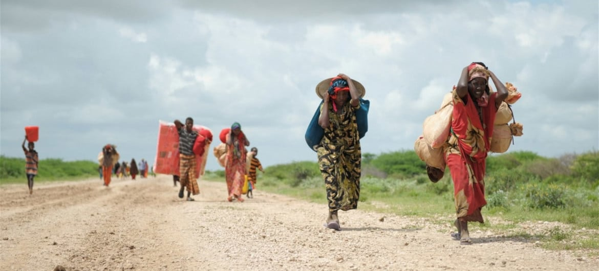Predicting Climate Change and Forced Displacement