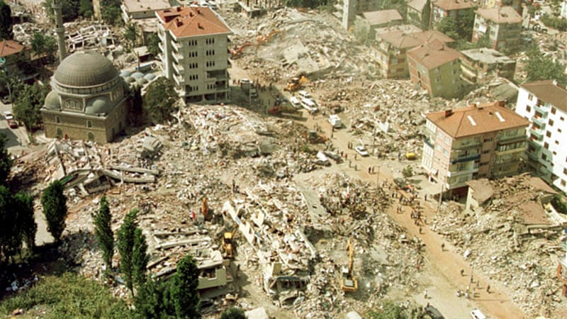 Improving the Aftermath Management of an Earthquake