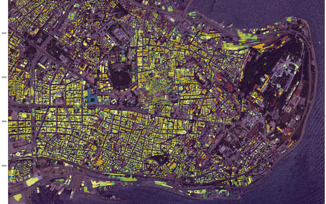 Fatih population top view from satellite