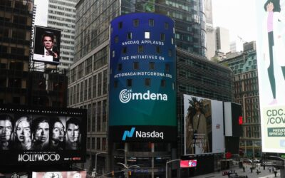 Omdena's AI Community Shown At Times Square inNYC