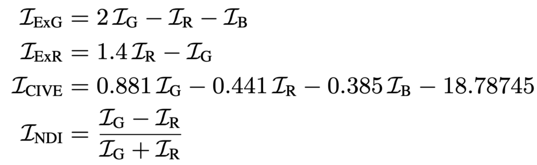 Engineered channels calculation feature extraction