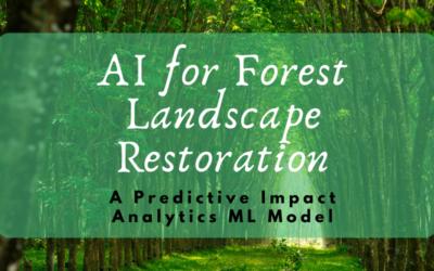 AI for Forest Landscape Restoration: Does it make a sound?